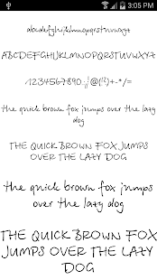 Fonts for FlipFont #19 - screenshot thumbnail