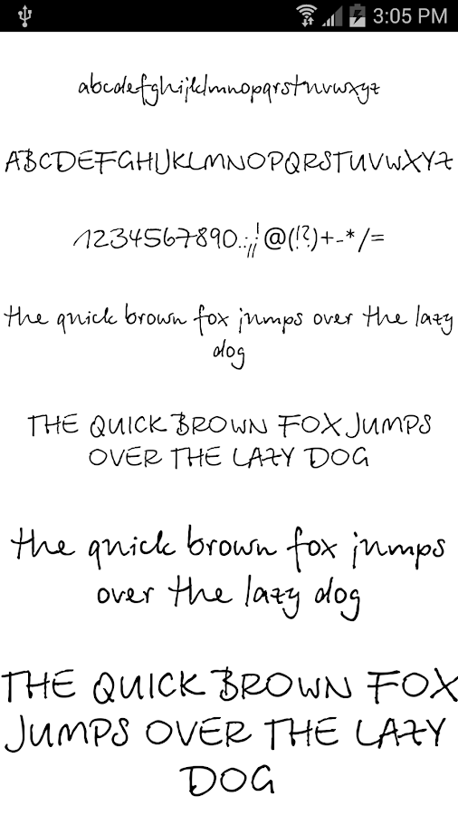 Fonts for FlipFont #19 - screenshot
