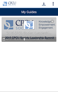 CPCU Society- screenshot thumbnail