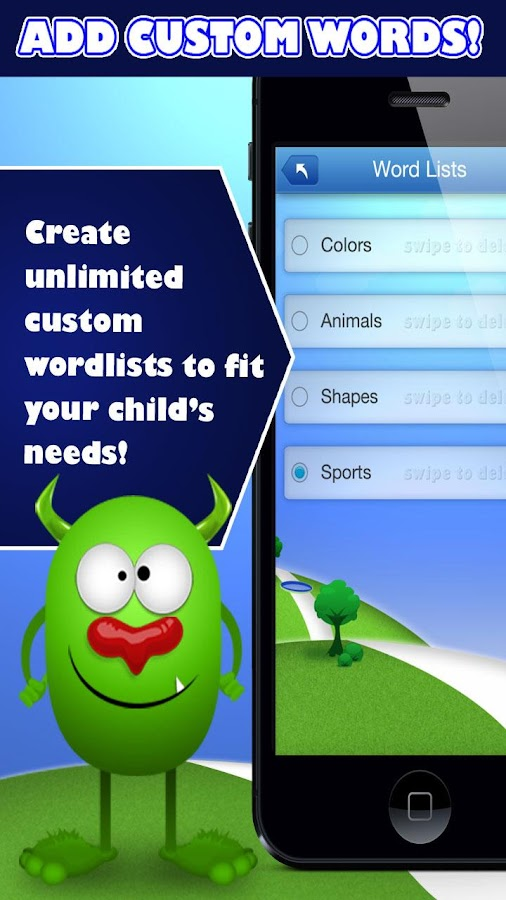 Spelling Monster Free: captura de pantalla