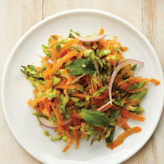 Asparagus and Carrot Slaw.