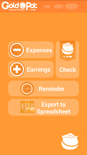 GoldPot - Expense Manager FREE