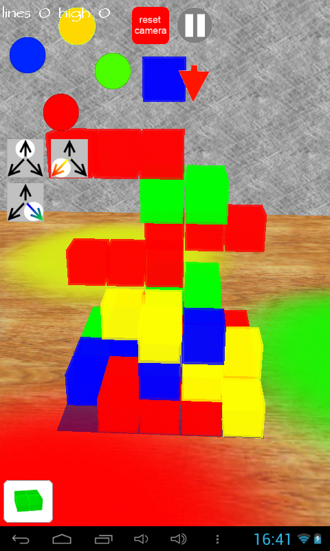 Tetri Blocks 3D- screenshot