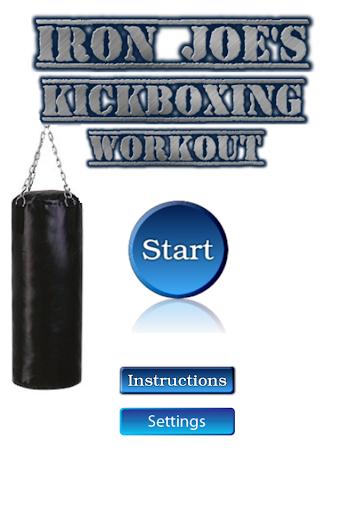 IRON JOE™ Kickboxing Workout