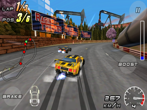 Raging Thunder 2 - FREE APK screenshot thumbnail 8