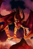Screenshot of Vulcano Dragon Demo
