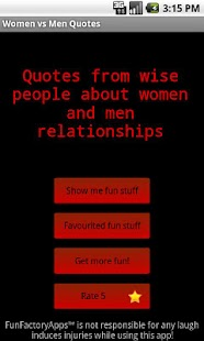 Women vs Men Quotes - screenshot thumbnail