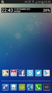 Jelly Bean Clock Widget Donate- screenshot thumbnail