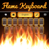 Fire Keyboard GO Theme