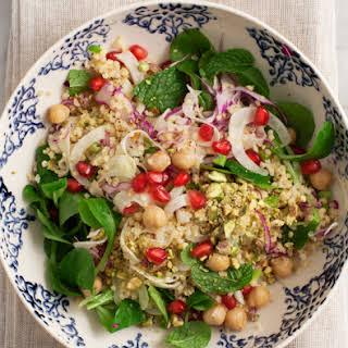 Minty Millet & Pomegranate Salad.