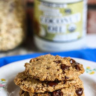 Almond Butter Chocolate Chip Cookies {Gluten-Free}