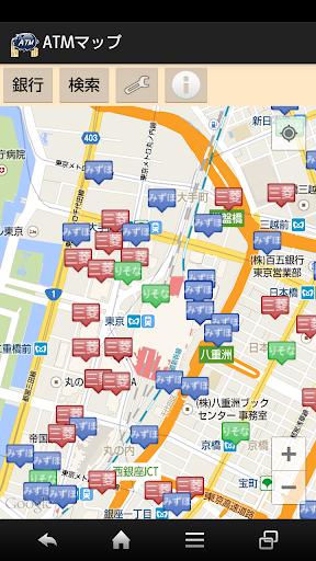 ATMマップ