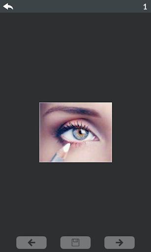 Eyes makeup step by step 5