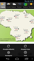 Screenshot of Orai Lietuvoje