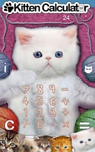 Kitten Calculator Lite - screenshot thumbnail