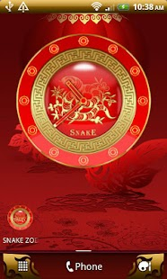 SNAKE - Chinese Zodiac Clock - screenshot thumbnail