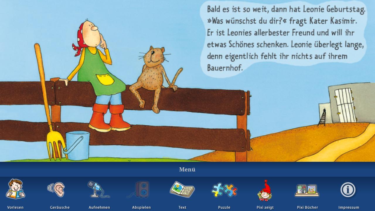 "Pixi ""Kasimirs Orchester"" - screenshot"