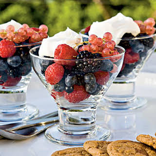 Berries with Mascarpone.