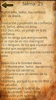Screenshot of Spanish Catholic Prayer Book