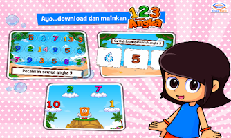 Screenshot of Marbel Belajar Angka