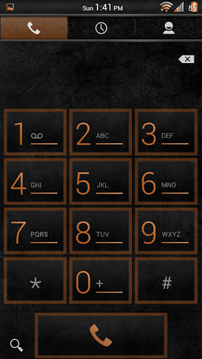 【免費個人化App】Stone Grunge Orange CM11 Theme-APP點子
