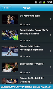 Barclays ATP World Tour Finals - screenshot thumbnail