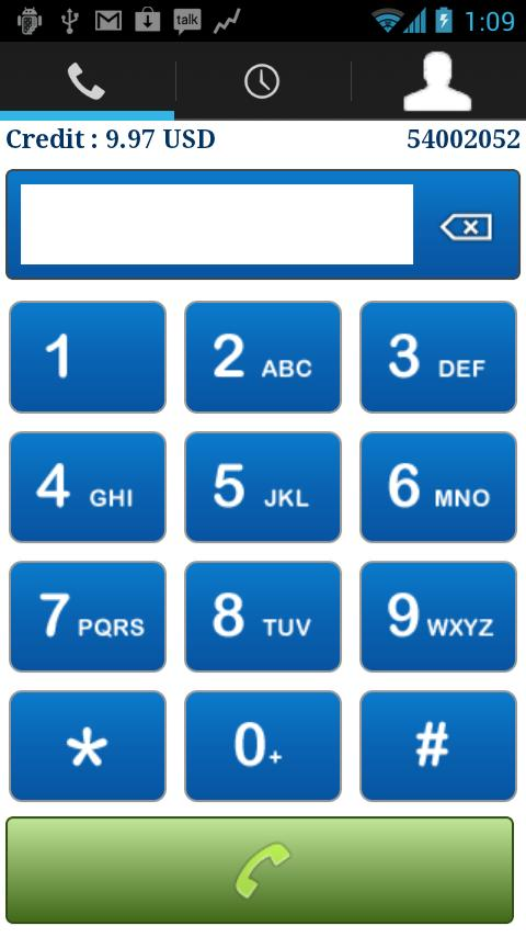 NathTel VoIP - screenshot