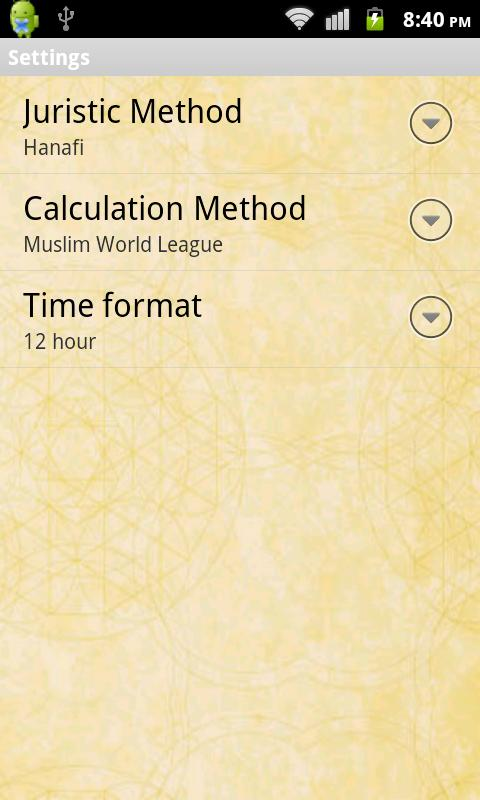 Prayer Times with Qibla Compas - screenshot