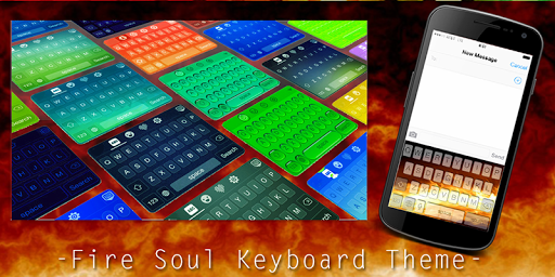 Fire Soul Keyboard Theme