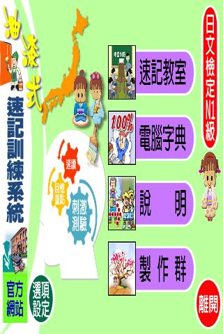 油漆式速記法-日文檢定N1級