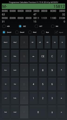 Programmer Calculator Premium