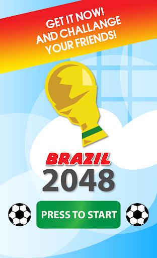 2048 - 巴西世界盃 別注版
