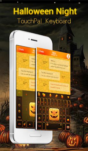 Halloween Night Keyboard Theme