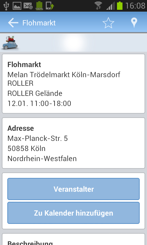flohmarkt termine android apps on google play. Black Bedroom Furniture Sets. Home Design Ideas
