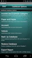 Screenshot of Cashbook - Expense Tracker