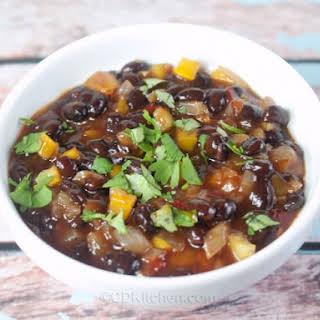 El Pollo Loco Black Beans.