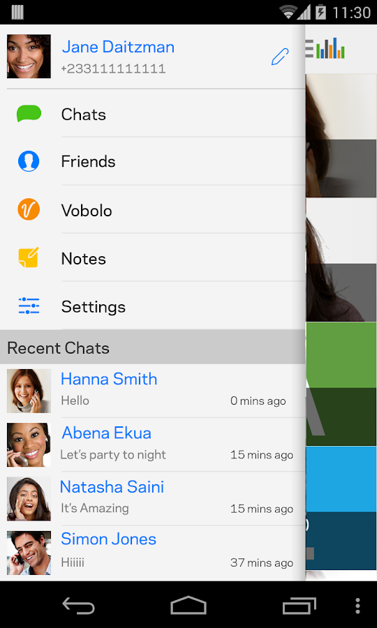 InstaVoice® Voicemail &Texting - screenshot