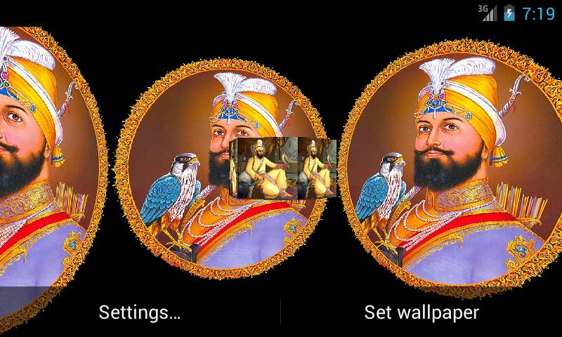 Guru Gobind Singh ji 3d Wallpapers Guru Gobind Singh ji 3d Lwp