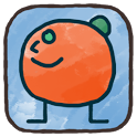 Doodle Orange Free icon