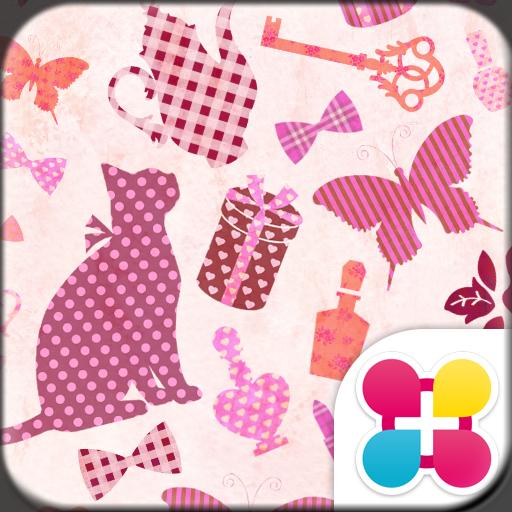 粉妝貓咪 for[+]HOME 個人化 App LOGO-APP試玩