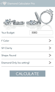 Diamond Calculator PRO screenshot 1