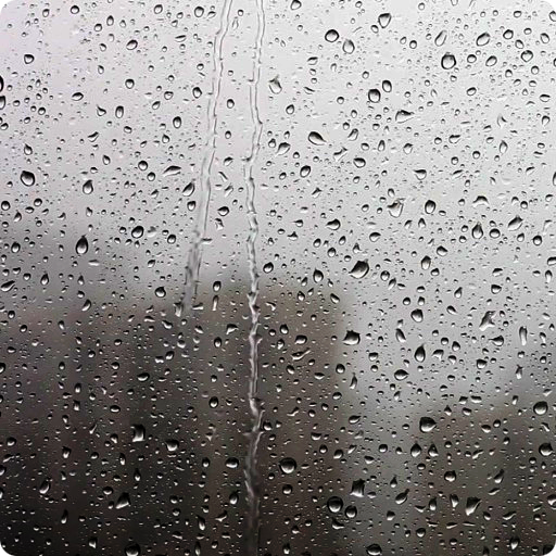 Raindrops Live Wallpaper HD Icon