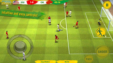 Striker Soccer Brazil 1.2.7 screenshot 193266