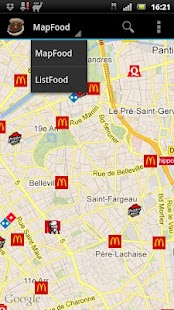 MapFood - screenshot thumbnail