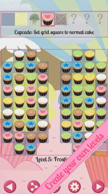 Cupcake Cascade- screenshot