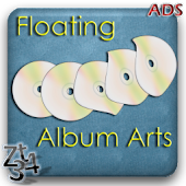 Floating Album Arts LWP (ADS)