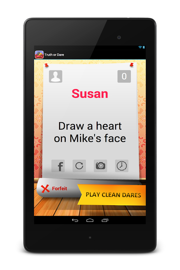 Truth or Dare- Clean Teen Game- screenshot