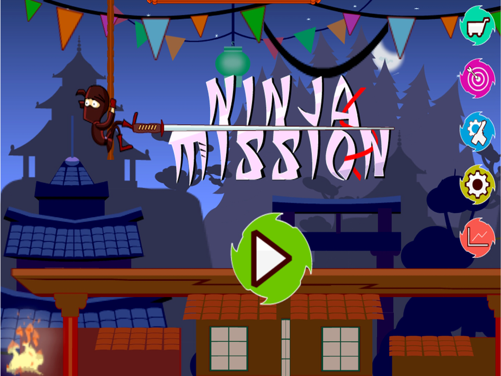 Ninja Mission- screenshot