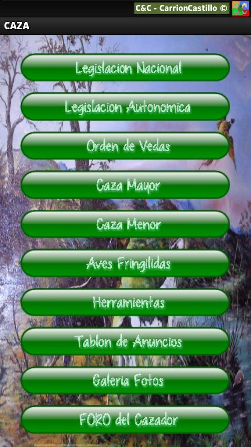 Caza Reclamo - APP- screenshot