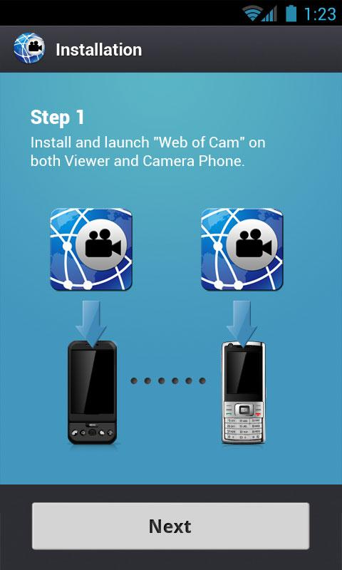 WiFi Home Surveillance IP Cam - screenshot